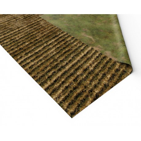 "Rice Fields 72"" x 36"""