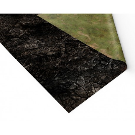 "Volcanic World 72"" x 48"""