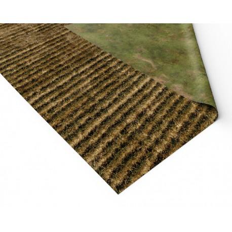 """Rice Fields 72"""" x 48"""""""
