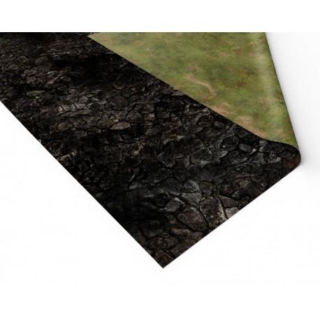 "Volcanic World 36"" x 36"""