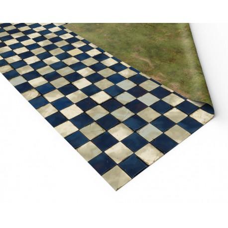"""Checkered Tiles 48"""" x 48"""""""