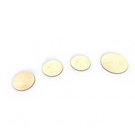 """Dry-erase token set - diameter 1"""""""