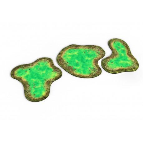 Neoprene 2D Terrain - Toxic Pond