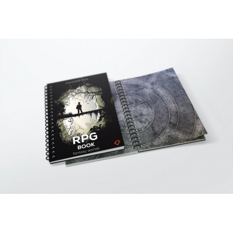 A4 RPG book - square grid